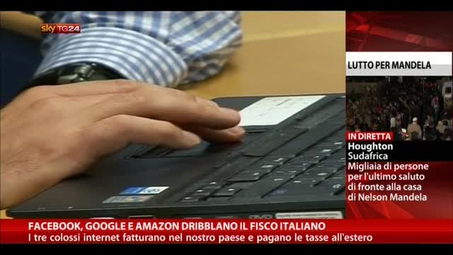 Facebook, Google e Amazon dribblano il fisco italiano