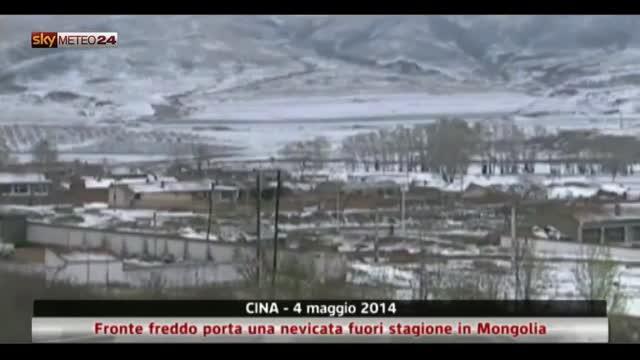 Cina forte freddo porta nevicata fuori stagione in - Sky ti porta al cinema ...