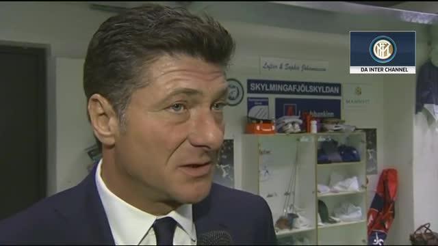 Inter, Mazzarri è molto soddisfatto