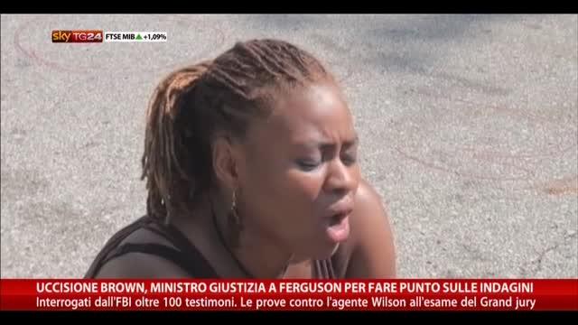 Uccisione Brown, Ministro Giustizia a Ferguson per indagini