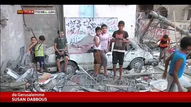 Gaza, due nuovi raid israeliani: 4 bambini tra le 7 vittime