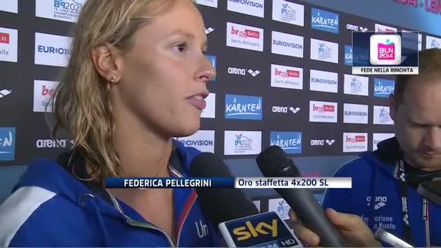 Staffetta 4x200 sl d'oro, la Pellegrini racconta la rimonta