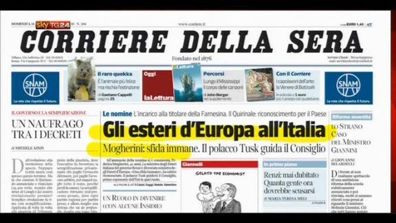 Rassegna stampa nazionale (31.08.2014)