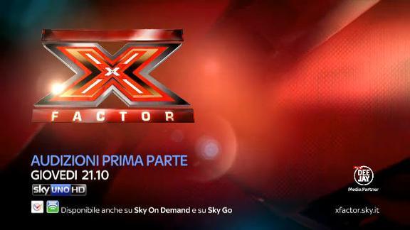 X Factor 2014 - Le audizioni