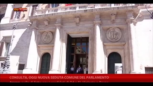 Consulta, oggi nuova seduta comune del parlamento