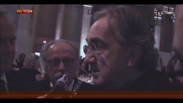 Marchionne: mostrerò a Renzi il risanamento della Chrysler