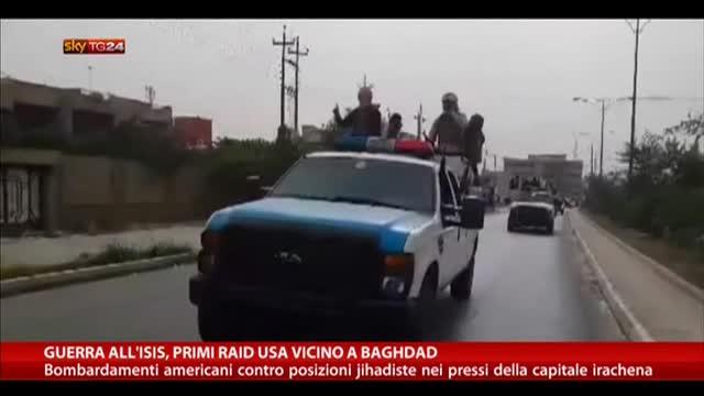 Guerra all'ISIS, primo raid americano vicino Baghdad