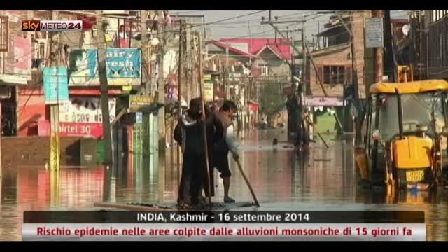 India, rischio epidemie nelle aree colpite dalle alluvioni