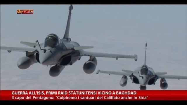 Guerra all'Isis, primi raid statunitensi vicino Baghdad