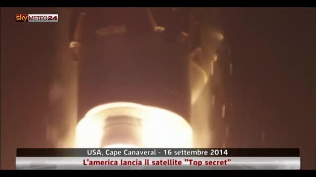 "Usa, l'america lancia il satellite ""Top secret"""