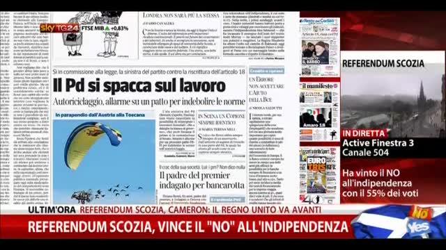 Rassegna stampa nazionale (19.09.2014)