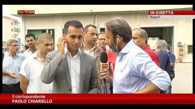 Napoli, polemiche sul deposito autobus: parla Di Maio