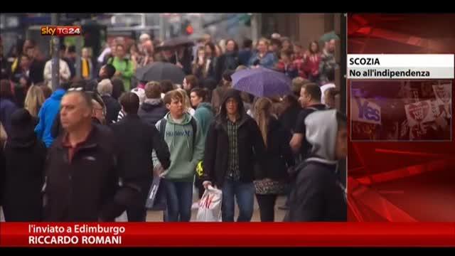 Scozia, scontri a Glasgow dopo il no all'indipendenza