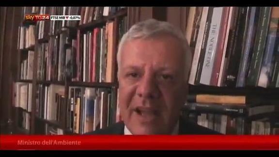 Clima, Galletti: spero in accordo Ue su riduzione emissioni