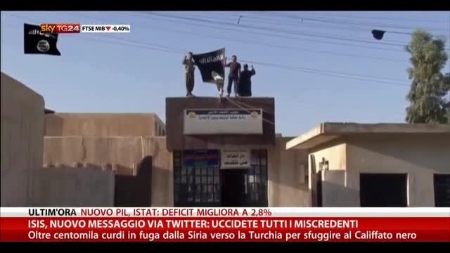 Isis, nuovo messaggio Twitter: uccidete tutti i miscredenti