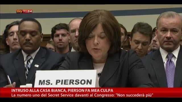 Intruso alla Casa Bianca, Pierson fa mea culpa