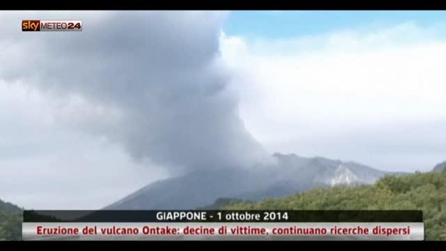 Eruzione del vulcano Ontake, continua la conta dei dispersi