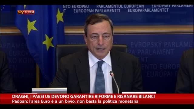 Napolitano ai banchieri BCE: preoccupati