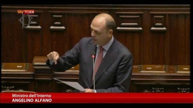 Caso De Magistris, Alfano annuncia lla Camera la sospensione