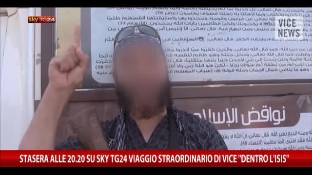 """Stasera h 20.20 su SkyTG24 reportage di Vice """"Dentro l'Isis"""""""