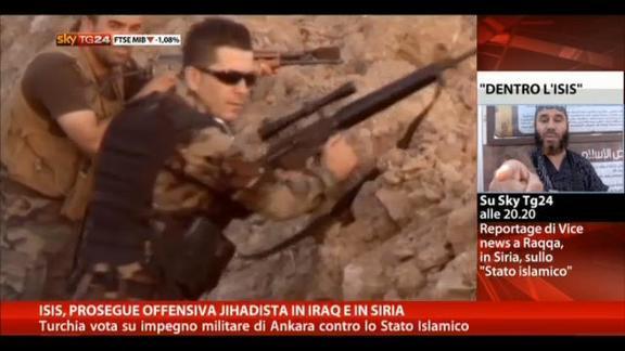 Isis, prosegue offensiva jihadista in Iraq ed in Siria