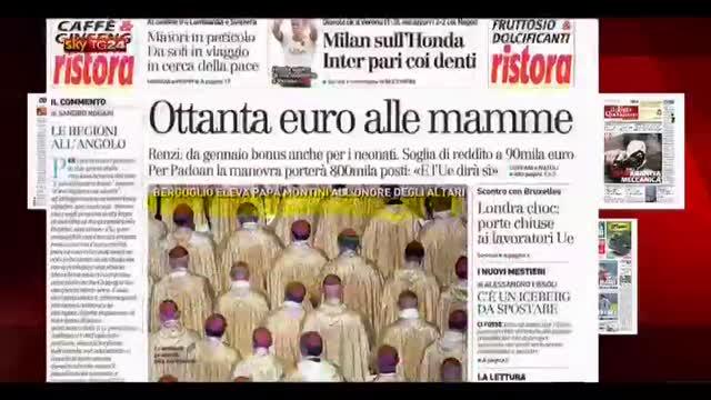 Rassegna stampa nazionale (20.10.2014)