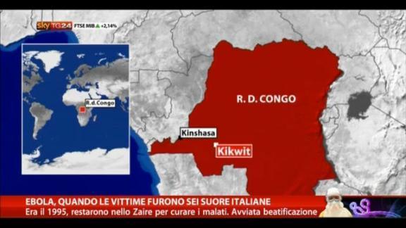 Ebola, quando le vittime furono sei suore italiane
