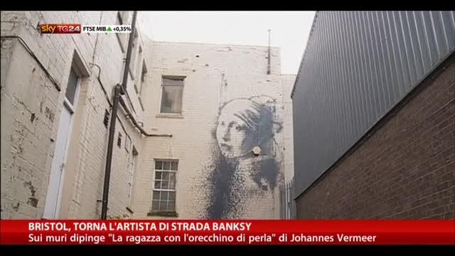 Bristol, torna l'artista di strada Banksy