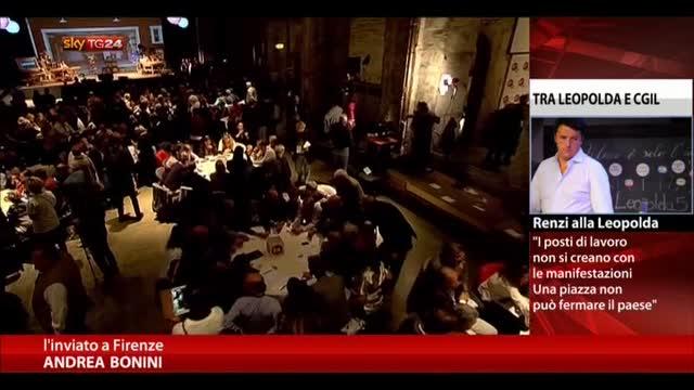Leopolda, Renzi: qui l'Italia che crea lavoro