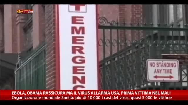 Ebola, Obama rassicura ma il virus allarma Usa