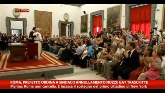 Nozze gay, scontro Prefetto-Marino sulle trascrizioni