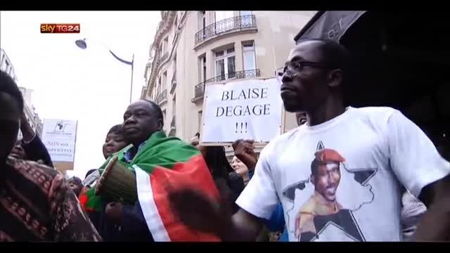 Golpe Burkina Faso, si dimette Presidente Compaoré