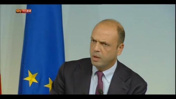 Alfano: UE ha preso coscienza sue frontiere