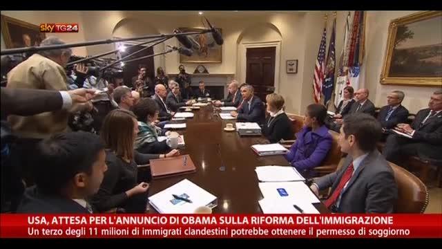 USA, attesa per annuncio di Obama su riforma immigrazione