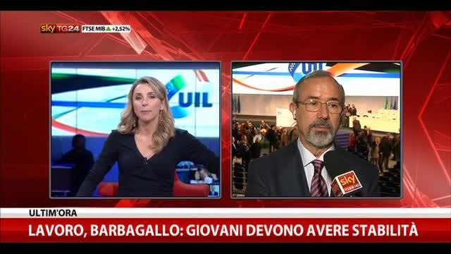 Barbagallo a Renzi: inventi scusa per evitarci sciopero