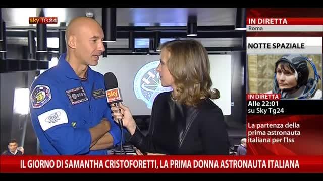 Missione Futura, le parole di Luca Parmitano