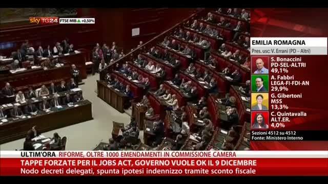 Tappe forzate per Jobs Act, Governo vuole ok il 9 dicembre