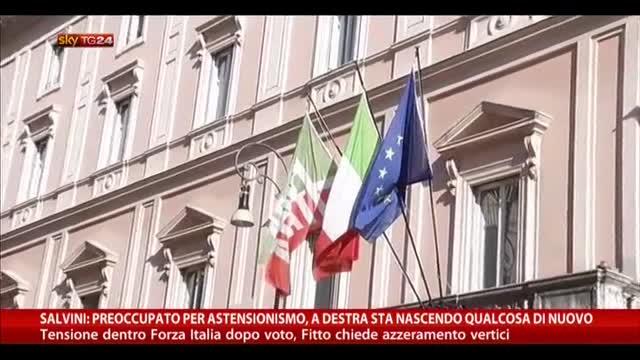 Salvini: preoccupato per astensionismo