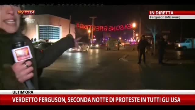 Verdetto Ferguson, seconda notte di scontri in tutti gli Usa