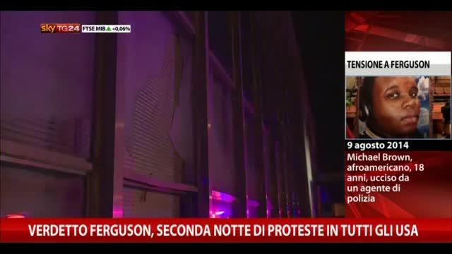 Ferguson, ancora proteste. L'agente: ho fatto il mio dovere