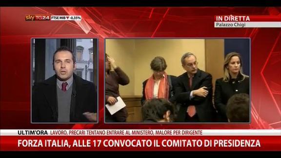 Riforme, in mattinata colloquio Napolitano, Renzi e Boschi