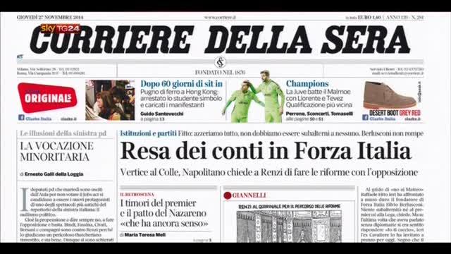 Rassegna stampa nazionale (27.11.2014)