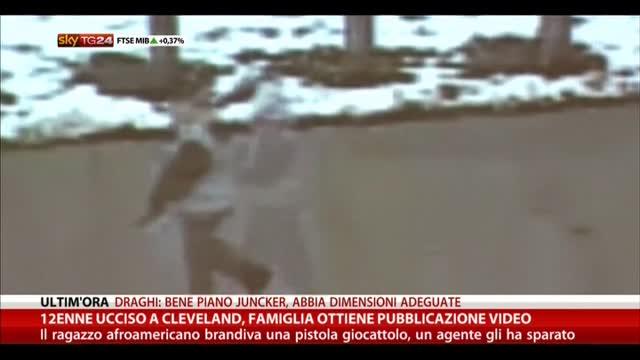 Cleveland, 12enne ucciso: pubblicato il video
