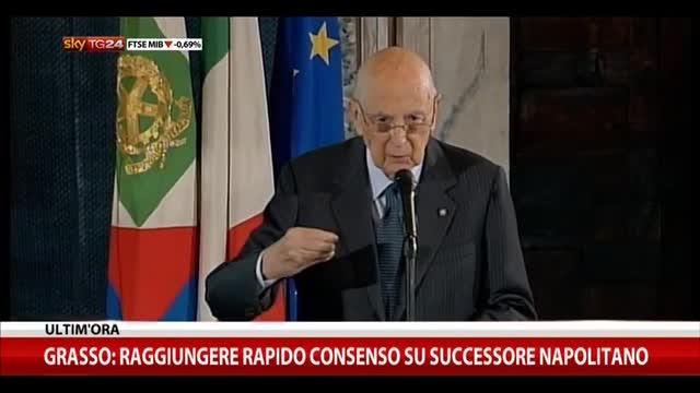 Napolitano: su economia Ue troppe drammatizzazioni