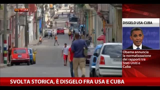 Usa-Cuba, Obama: somos todos americanos