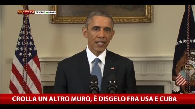 Crolla un altro muro, è disgelo fra Usa e Cuba