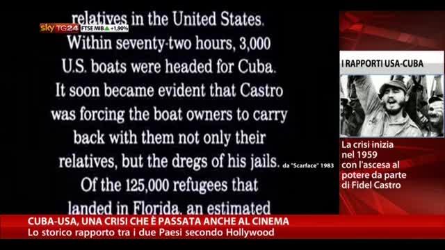 Cuba-Usa, una crisi che è passata anche al cinema