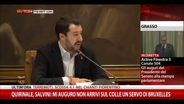 Salvini: mio competitor è Renzi, vogliamo arrivare al 51%