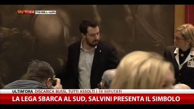 Salvini: nel nostro progetto non c'è spazio per Alfano
