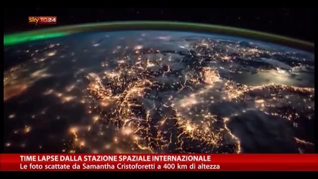 Time lapse dalla Stazione Spaziale Internazionale
